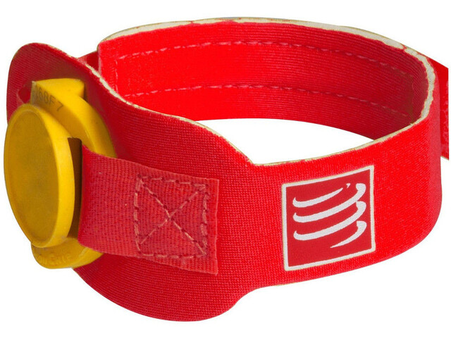 Compressport Timing Chipband rood
